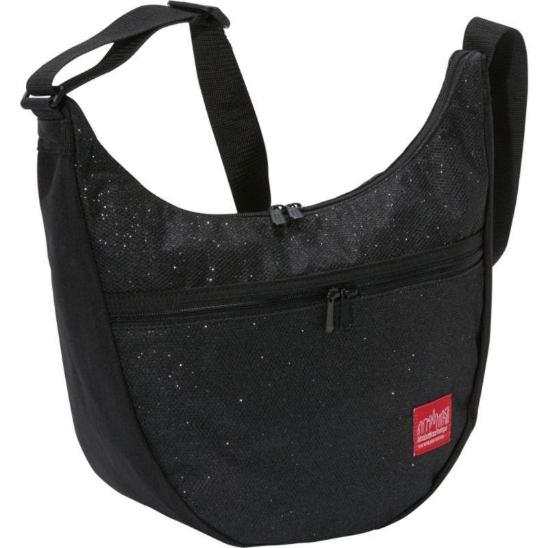 マンハッタンポーテージ メンズ ショルダーバッグ バッグ Midnight Nolita Shoulder Bag Black