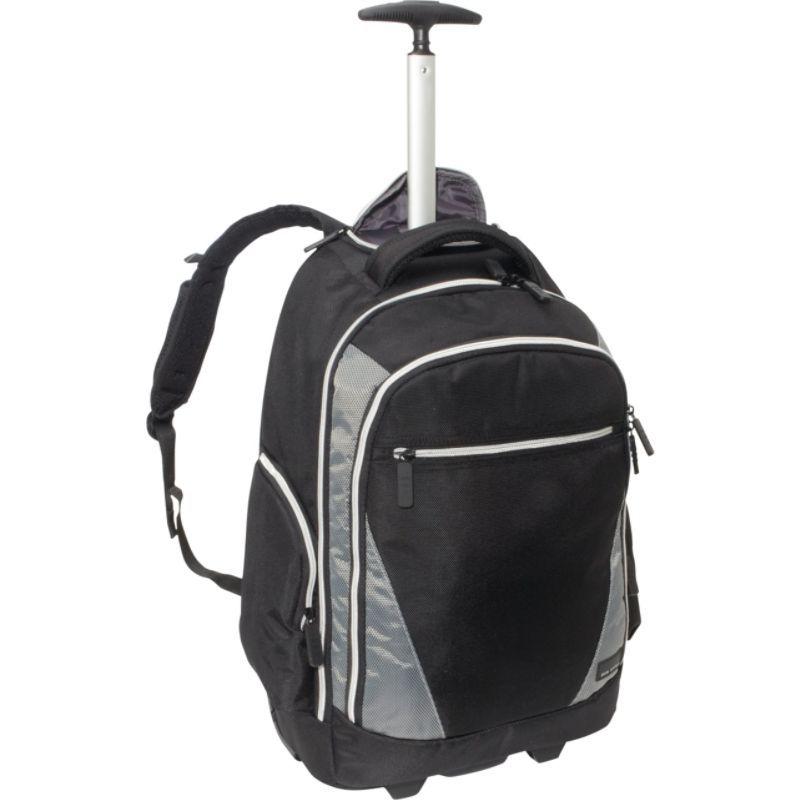 エコスタイル メンズ スーツケース バッグ Sports Voyage Rolling Backpack Black/Platinum