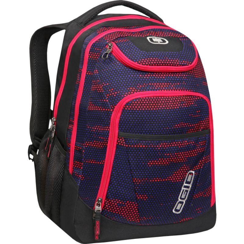 オギオ メンズ スーツケース バッグ Tribune 17 Laptop Backpack Hot Mesh