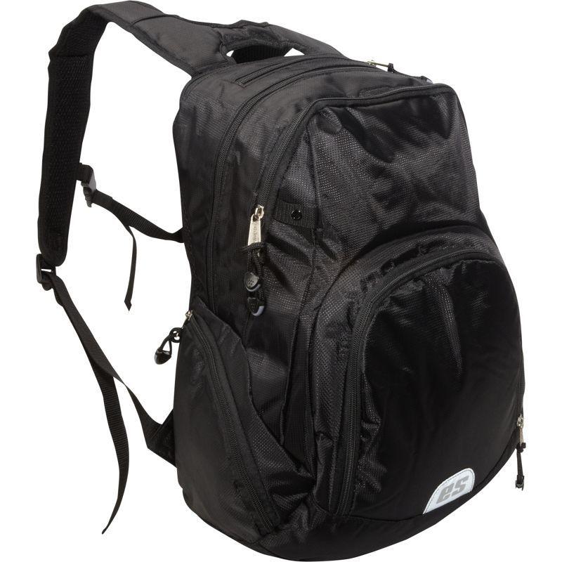 イーストポート メンズ バックパック・リュックサック バッグ Backpack with Electronic and Cooler Pockets Black