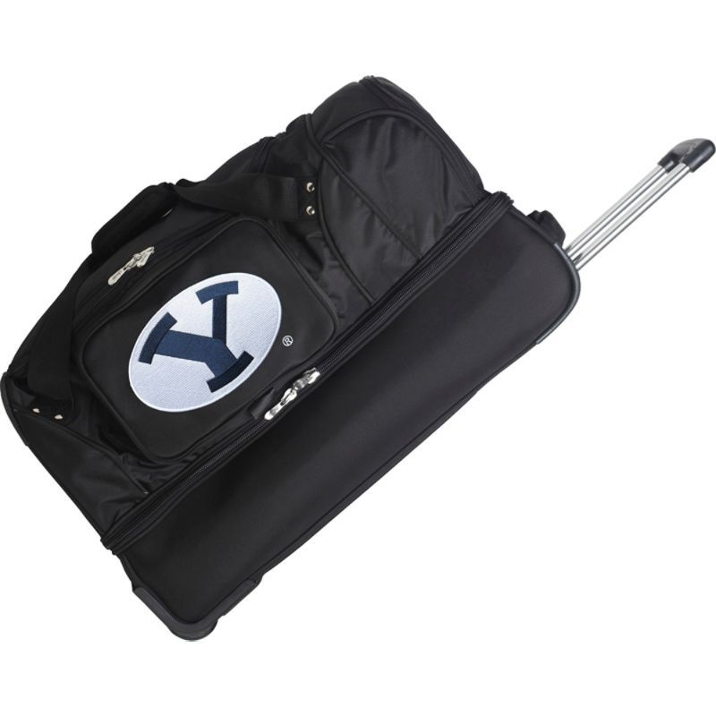 デンコスポーツ メンズ スーツケース バッグ NCAA 27 Drop Bottom Wheeled Duffel Bag Brigham Young University Cougars