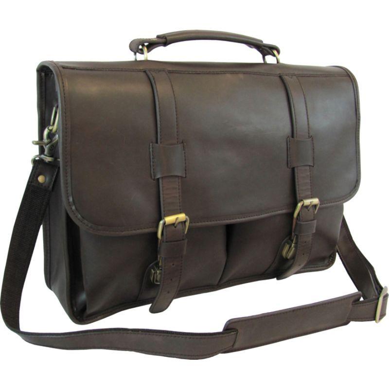 アメリ メンズ スーツケース バッグ Heritage Laptop Briefcase Dark Brown