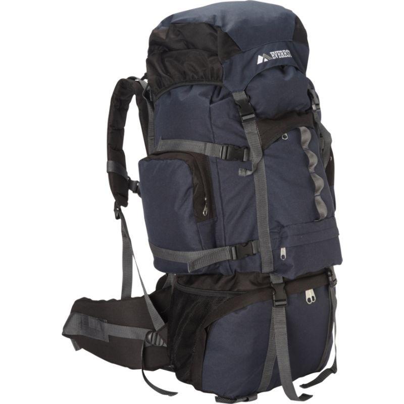 エバーレスト メンズ バックパック・リュックサック バッグ Deluxe Hiking Pack Navy/Black