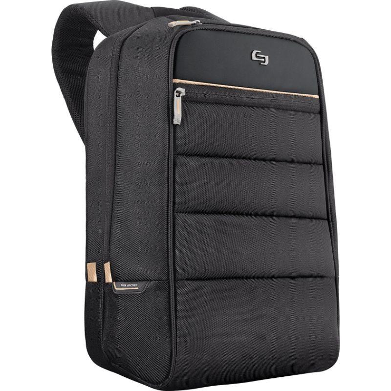 ソロ メンズ スーツケース バッグ Pro 15.6 Laptop Backpack Black