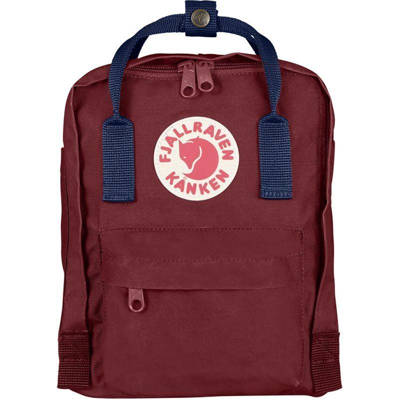 フェールラーベン メンズ バックパック・リュックサック バッグ Kanken Mini Backpack Ox Red-Royal Blue