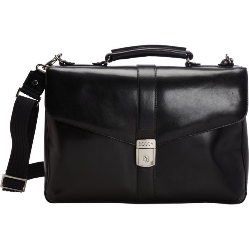 ボスカ メンズ スーツケース バッグ Flapover Brief Black