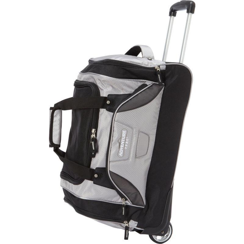 トラベラーズクラブ メンズ スーツケース バッグ Adventure 21 Rolling Duffel Bag Gray