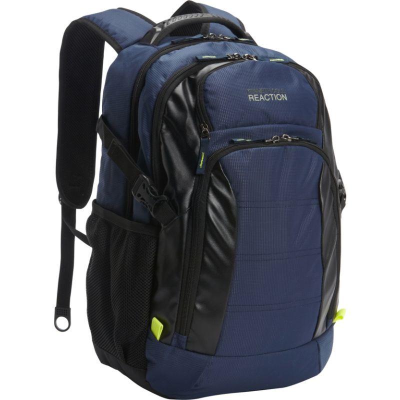 ケネスコール メンズ バックパック・リュックサック バッグ Moving Pack-Wards Computer Backpack Navy
