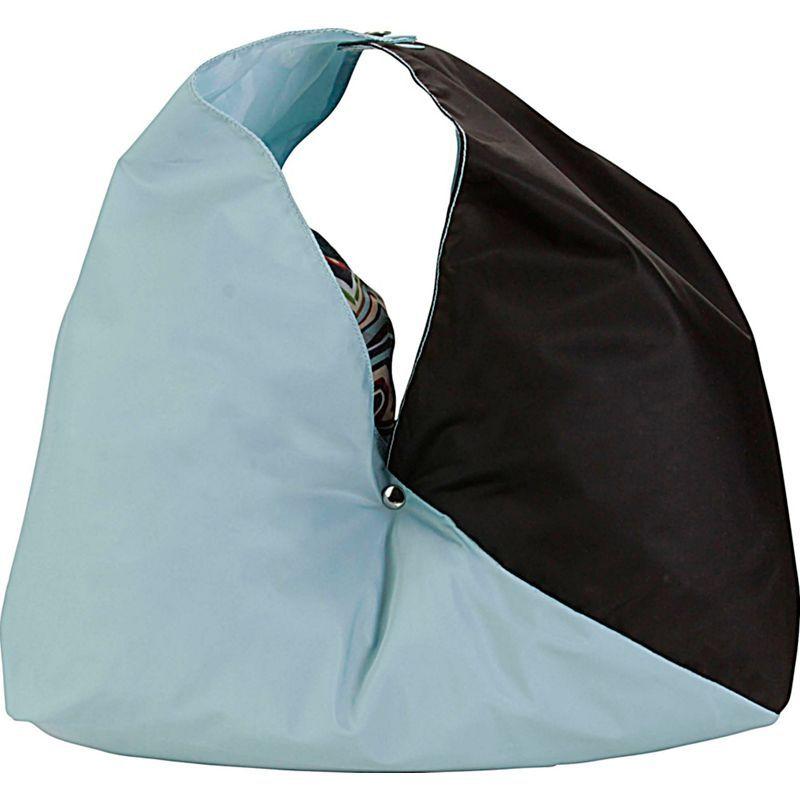 ハダキ メンズ トートバッグ バッグ Large Origami Tote Aqua Sea/Black