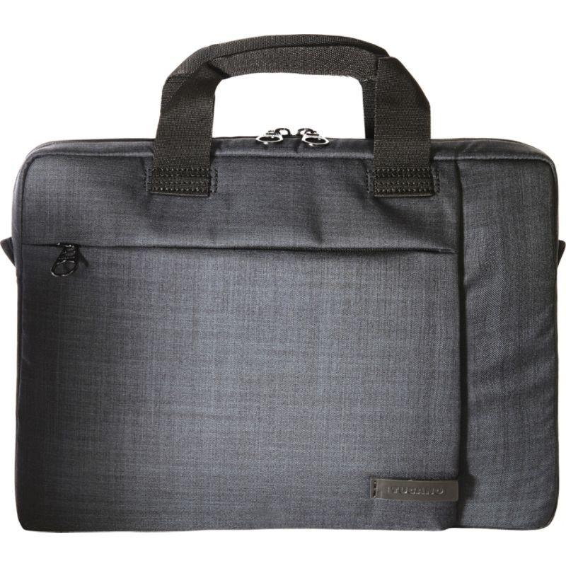 ツカーノ メンズ スーツケース バッグ Svolta Large Laptop Bag Black