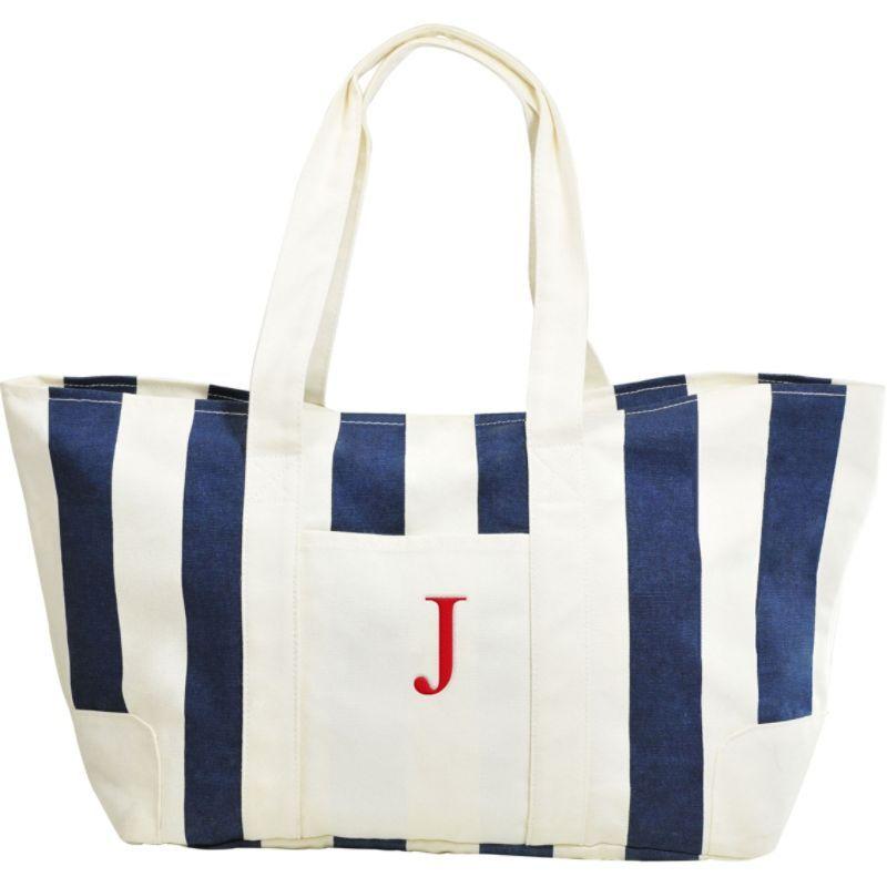 キャシーズ コンセプツ メンズ トートバッグ バッグ Monogram Tote Bag Blue - J