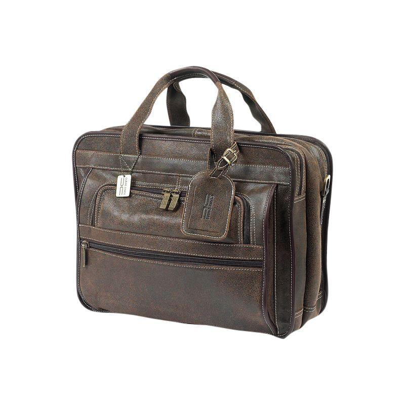 クレアーチャイス メンズ スーツケース バッグ Guardian Laptop Brief Distressed Brown