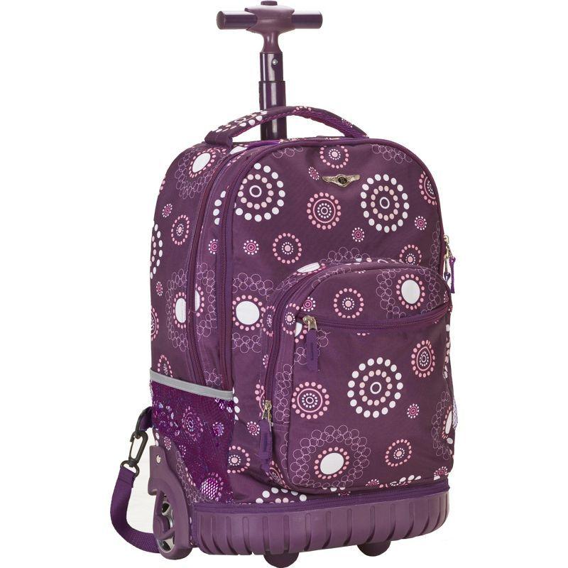 ロックランド メンズ バックパック・リュックサック バッグ Sedan 19 Rolling Backpack Purple Pearl
