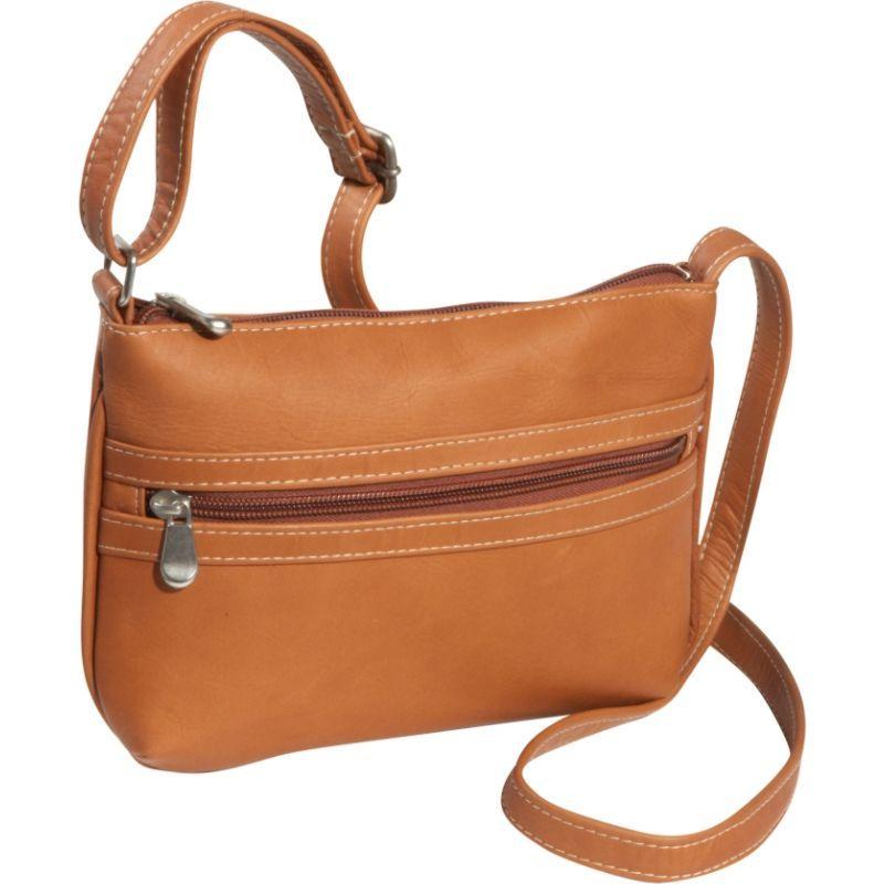 ルドネレザー メンズ ボディバッグ・ウエストポーチ バッグ City Crossbody Bag Tan