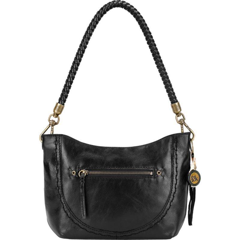 ザサック メンズ ショルダーバッグ バッグ Indio Leather Demi Shoulder Bag Black