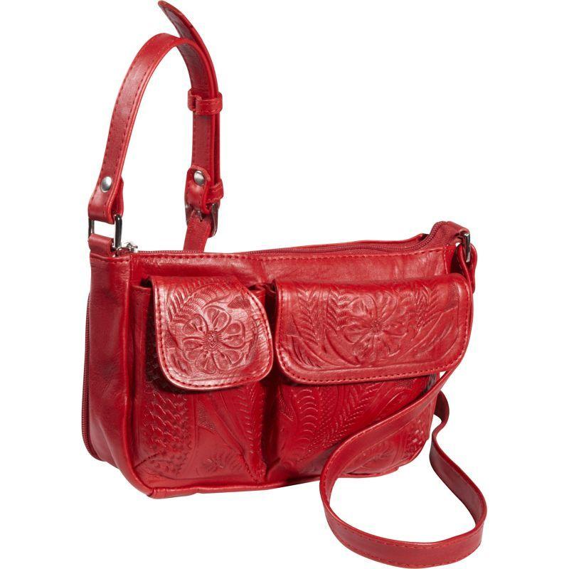 ロピンウェスト メンズ ボディバッグ・ウエストポーチ バッグ Shoulder Bag Red