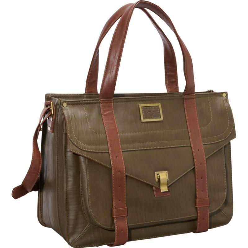 ウーメンインビジネス レディース スーツケース バッグ 15.6 Mercer Street Laptop Case Olive