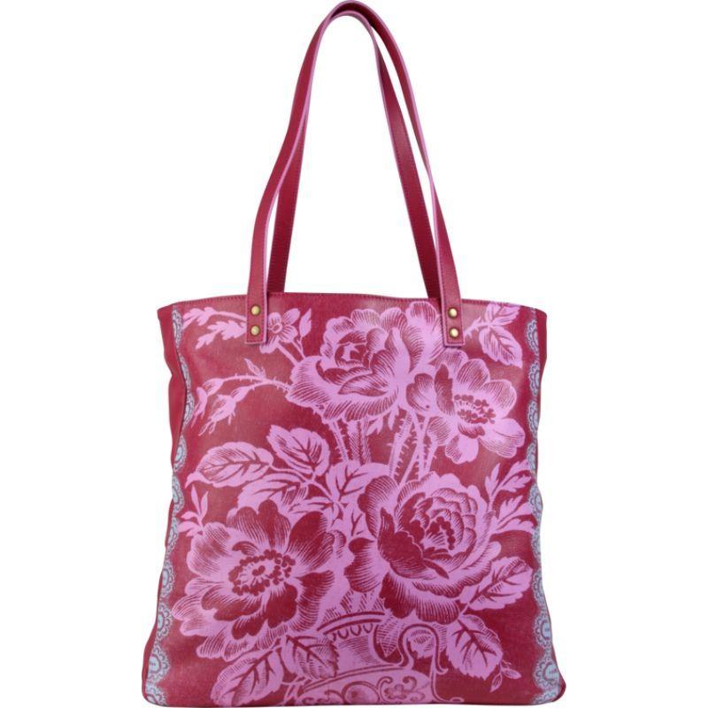 エミーバトラー メンズ トートバッグ バッグ Alissa Tote Cabbage Rose Raspberry
