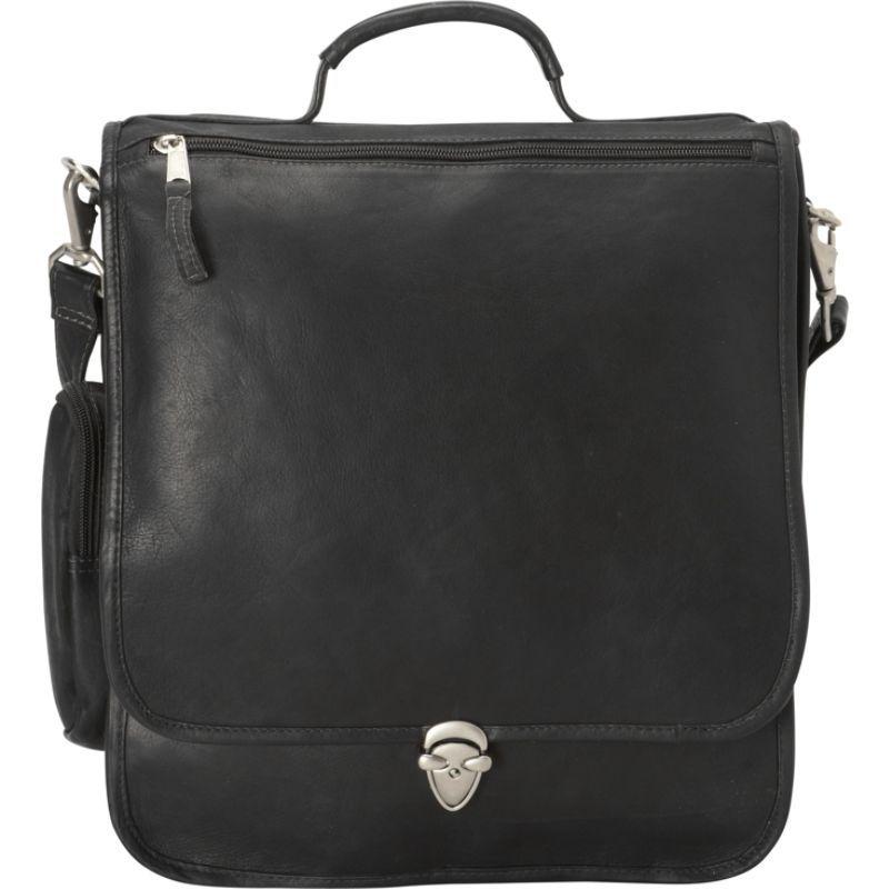 ラティコレザーズ メンズ スーツケース バッグ Hollywood Laptop Shoulder Bag/Brief Black