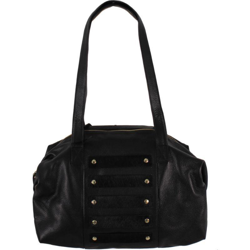 ラティコレザーズ メンズ ショルダーバッグ バッグ Enzo Shoulder Bag Black on Black