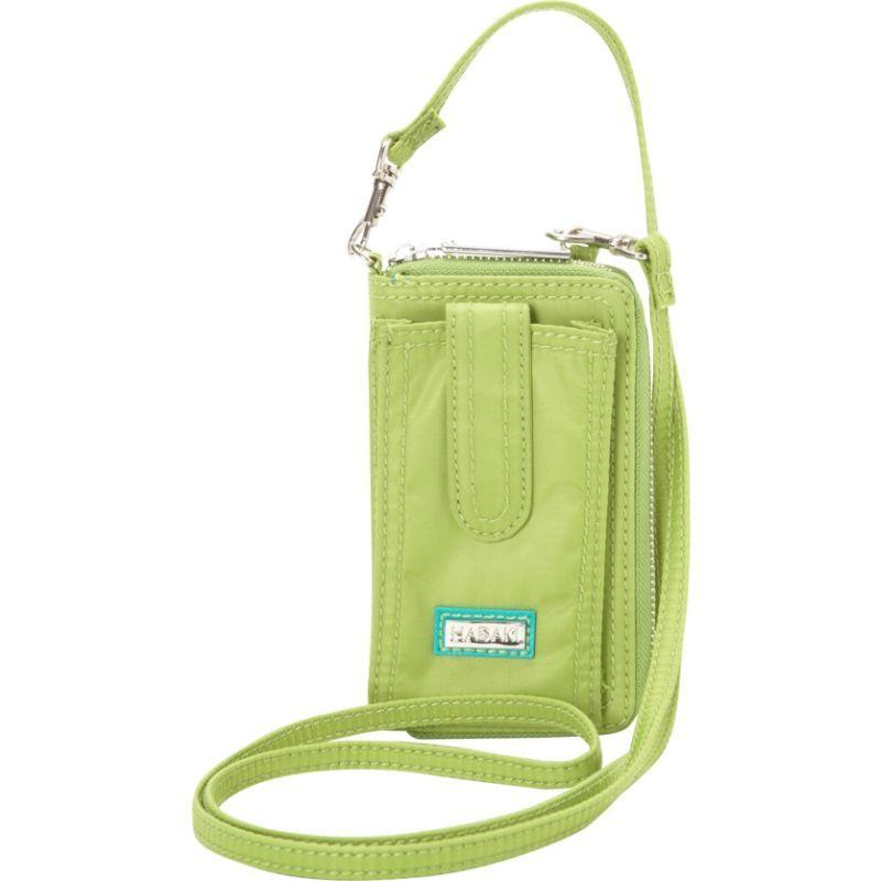 ハダキ メンズ ボディバッグ・ウエストポーチ バッグ Nylon Essentials Cross body Piquat Green