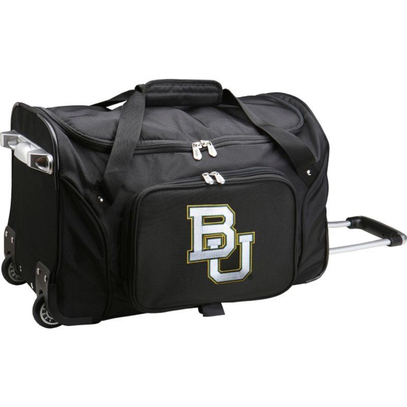 デンコスポーツ メンズ スーツケース バッグ NCAA 22 Rolling Duffel Baylor University Bears