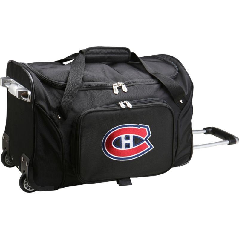 デンコスポーツ メンズ スーツケース バッグ NHL 22 Rolling Duffel Montreal Canadians