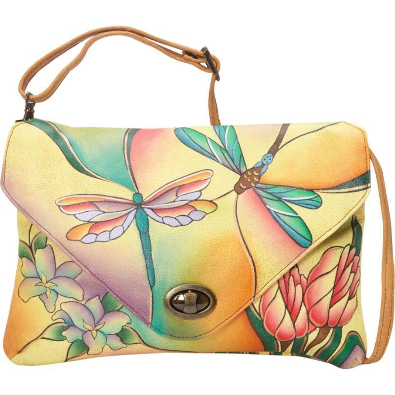 アンナバイアナシュカ メンズ セカンドバッグ・クラッチバッグ バッグ Envelop Clutch Dragonfly Glass Painting