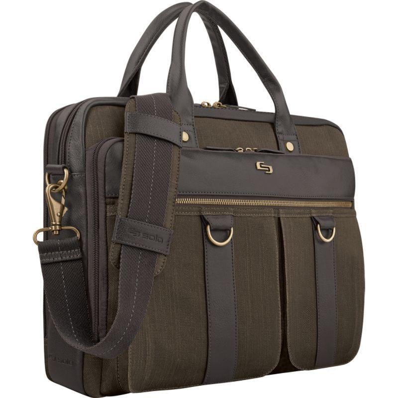 ソロ メンズ スーツケース バッグ Bradford 15.6 Briefcase Espresso