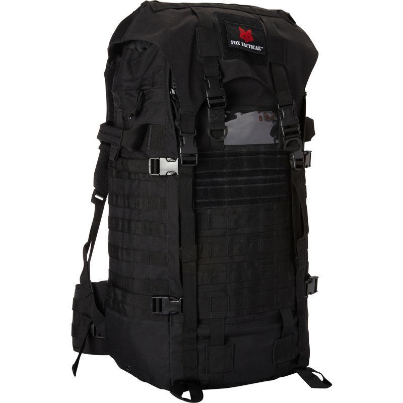 フォックスアウトドア メンズ ボストンバッグ バッグ Advanced Mountaineering Pack Black