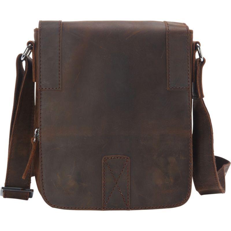 ヴァガボンドトラベラー メンズ ショルダーバッグ バッグ Full Grain Leather Satchel Handbag Vintage Brown