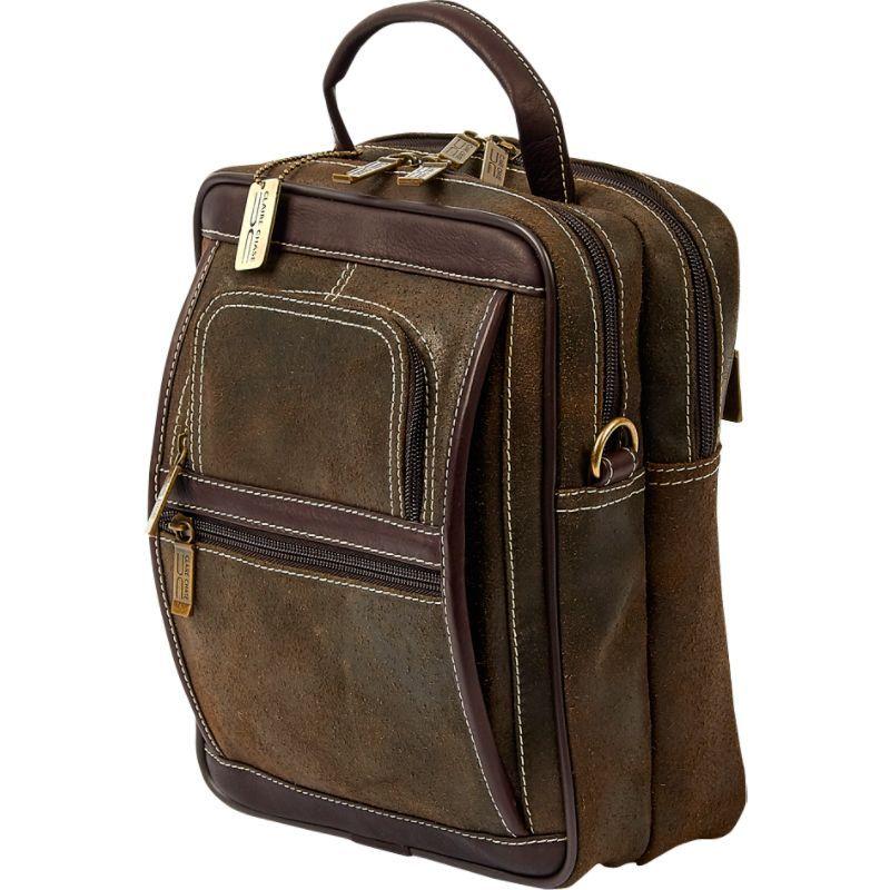 クレアーチャイス メンズ ショルダーバッグ バッグ Ultimate Manbag Extra Large Distressed Brown