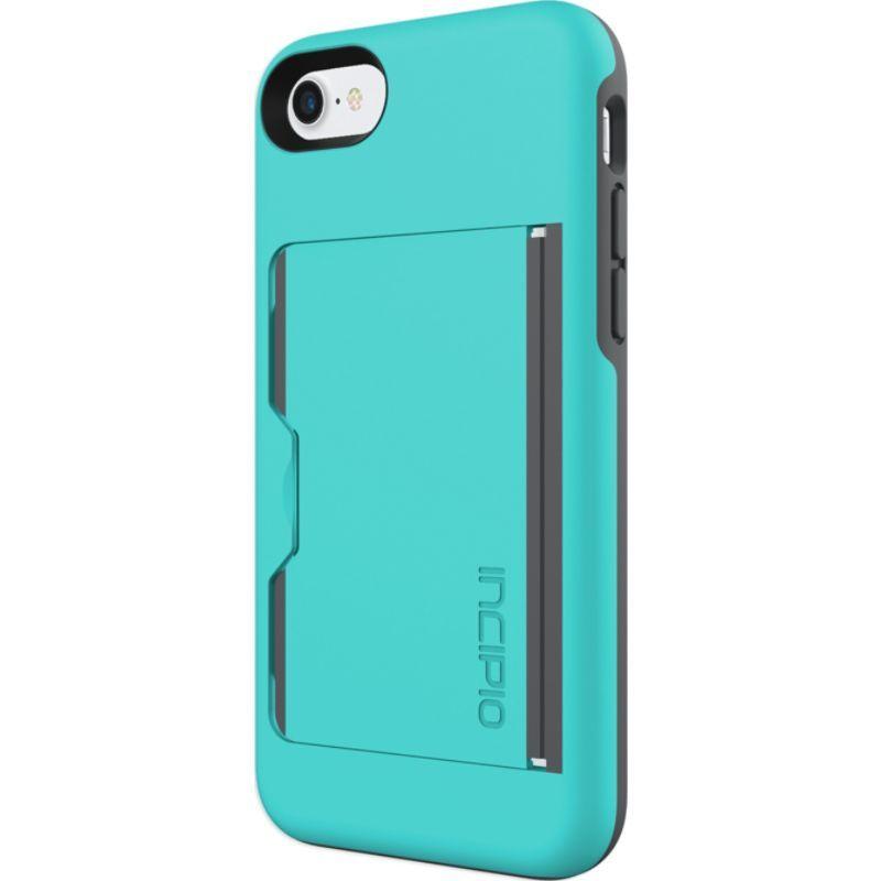 インシピオ メンズ PC・モバイルギア アクセサリー Stowaway for iPhone 7 Turquoise/Charcoal(TQC)