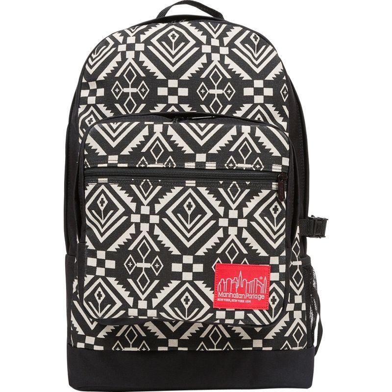 マンハッタンポーテージ メンズ バックパック・リュックサック バッグ Totem Morningside Backpack Black