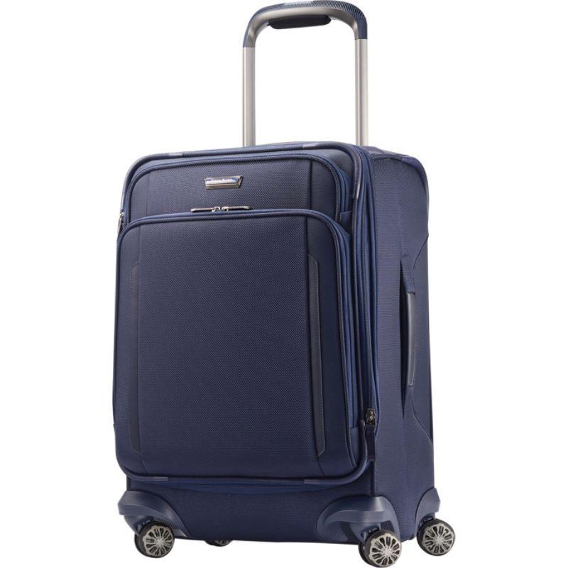 サムソナイト メンズ スーツケース バッグ Silhouette XV Softside Spinner 21 Twilight Blue