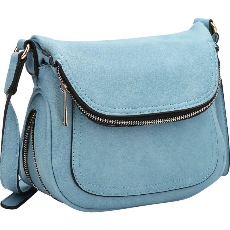 ダセイン メンズ ボディバッグ・ウエストポーチ バッグ Front Flap Crossbody Bag Niagara Blue