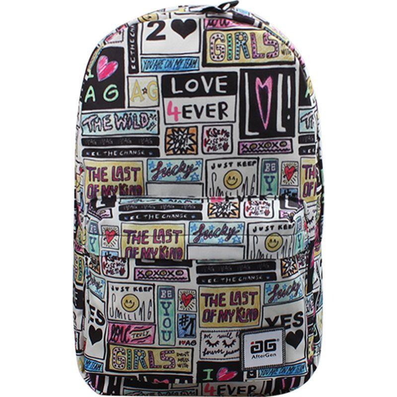 アフターゲン メンズ バックパック・リュックサック バッグ Anti-Bully Backpack Patchwork