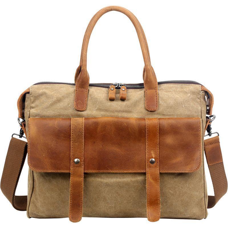 ティエスディー メンズ スーツケース バッグ Computer Brief Khaki