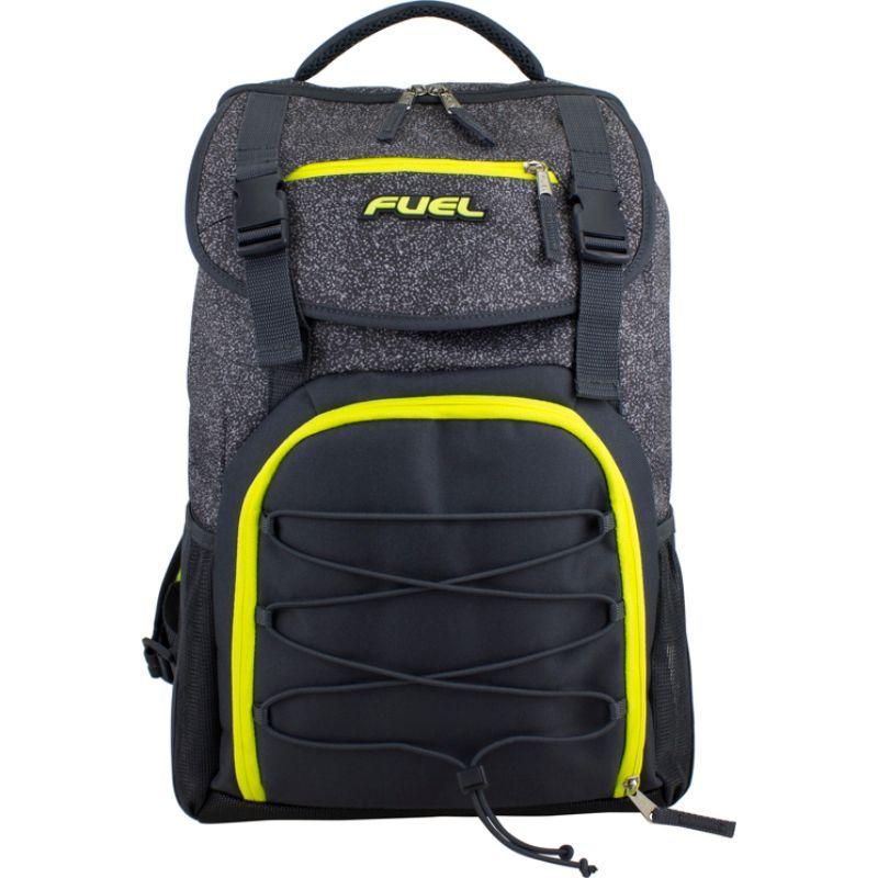 フュエル メンズ バックパック・リュックサック バッグ Triumph School Bookbag Gray/Yellow