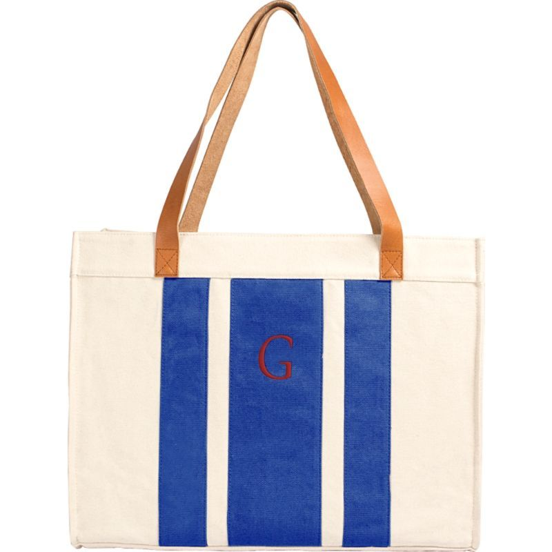 キャシーズ コンセプツ メンズ トートバッグ バッグ Monogram Tote Bag Blue - G
