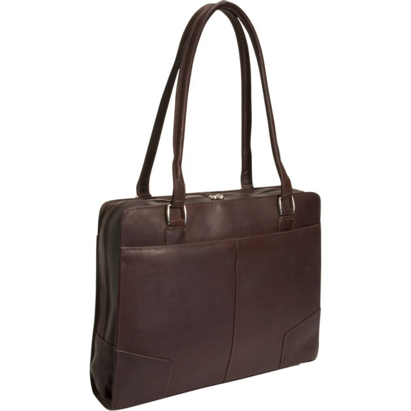 ピエール メンズ スーツケース バッグ Structured Laptop Tote Chocolate