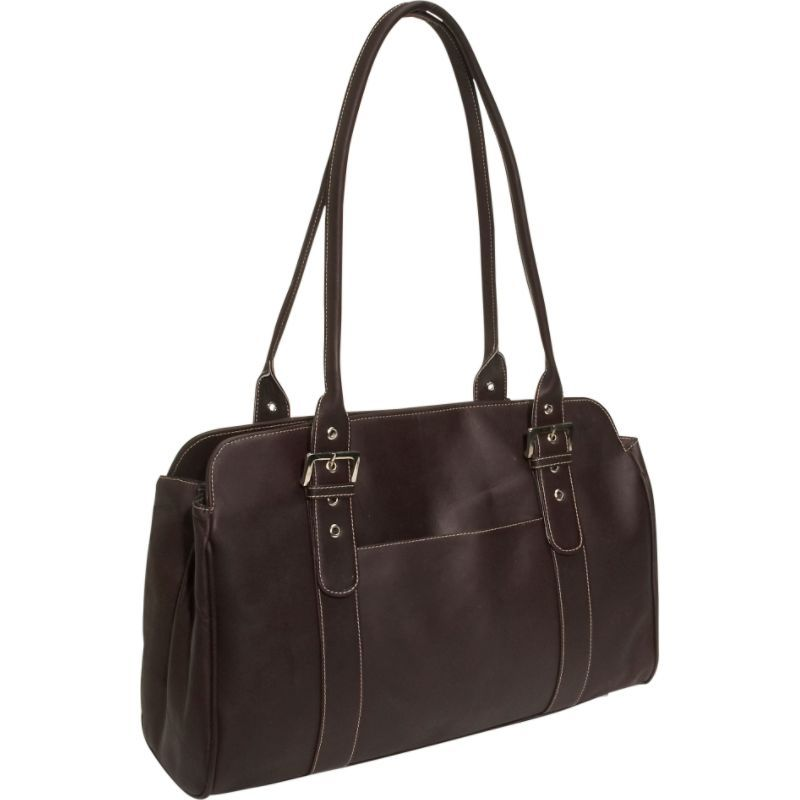 ピエール メンズ スーツケース バッグ Leather Working Tote Bag Chocolate