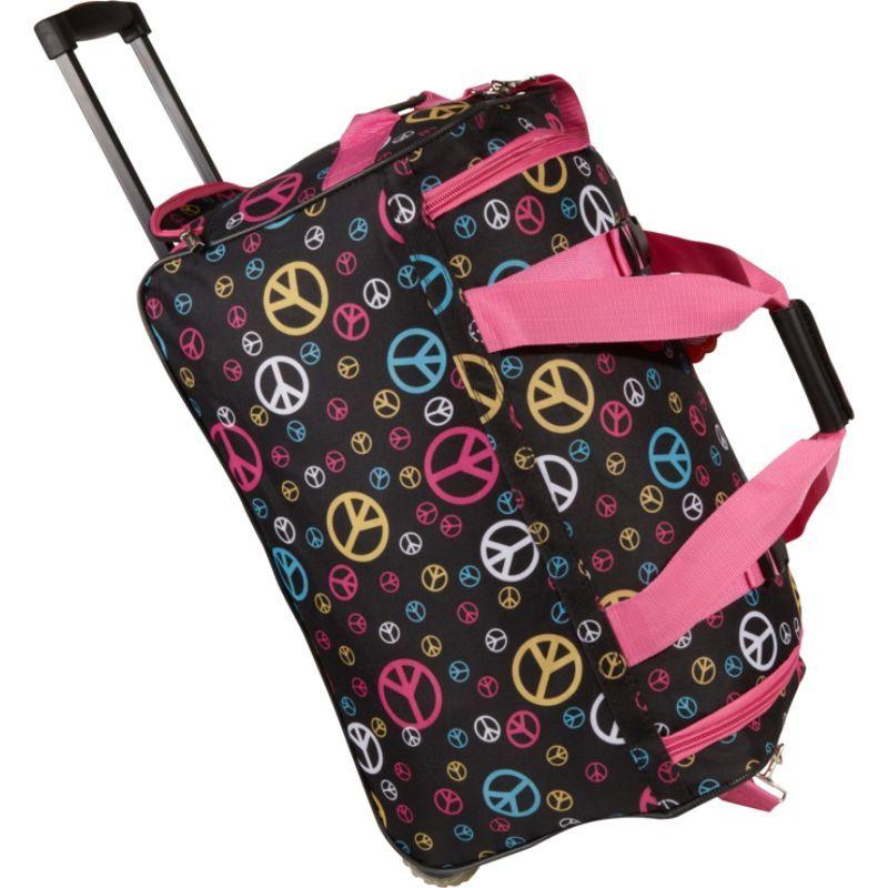 ロックランド メンズ スーツケース バッグ 22 Rolling Duffle Bag Peace