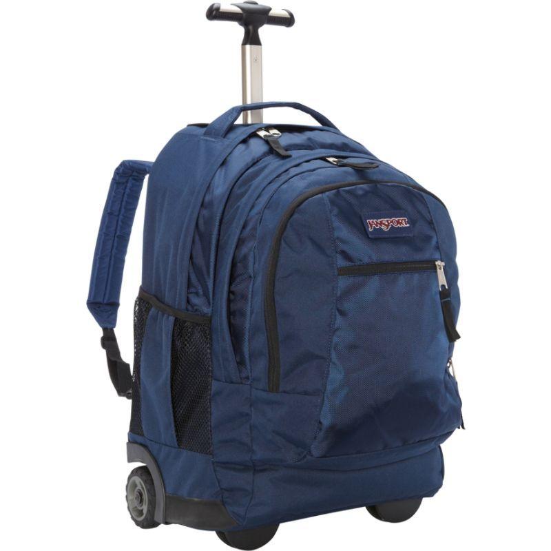ジャンスポーツ メンズ バックパック・リュックサック バッグ Driver 8 Rolling Backpack Navy