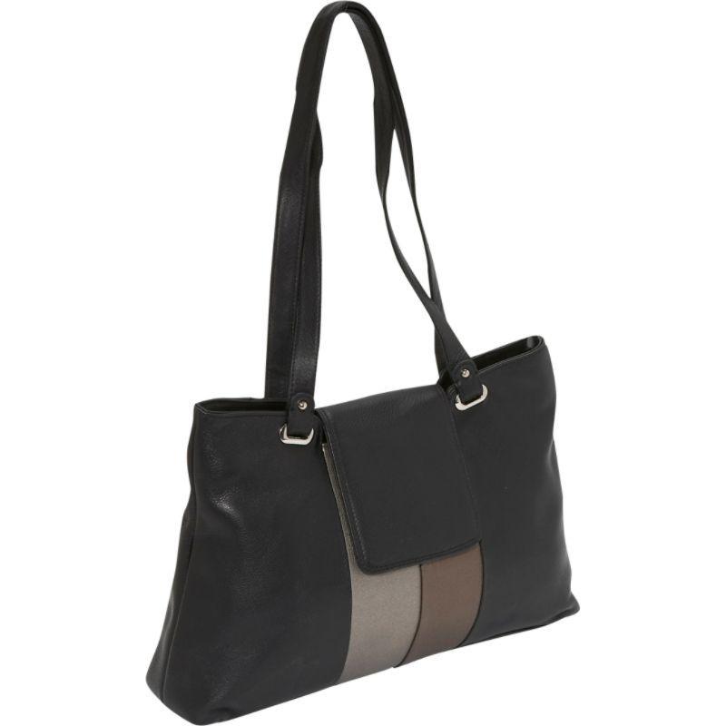 デレクアレクサンダー メンズ ショルダーバッグ バッグ Metallic Trim Shoulder Bag Metallic