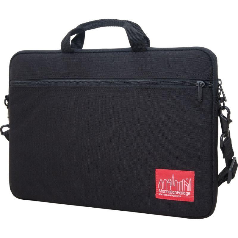 マンハッタンポーテージ メンズ スーツケース バッグ Convertible Laptop Bag (MD) Black