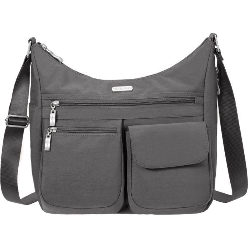 バッガリーニ メンズ ショルダーバッグ バッグ Everywhere Shoulder Bag with RFID Charcoal