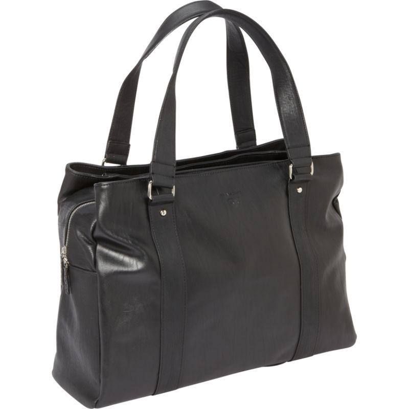 ウーメンインビジネス レディース スーツケース バッグ Francine Collection - Bond Street 17 Laptop Weekender Black