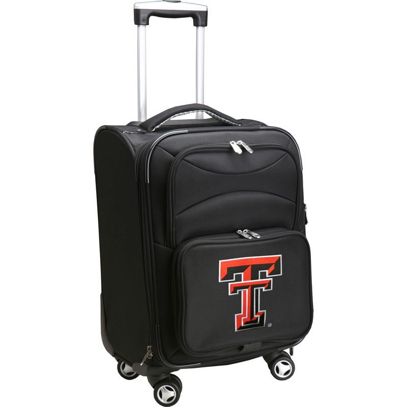デンコスポーツ メンズ スーツケース バッグ NCAA 20 Domestic Carry-On Spinner Texas Tech University Red Raiders