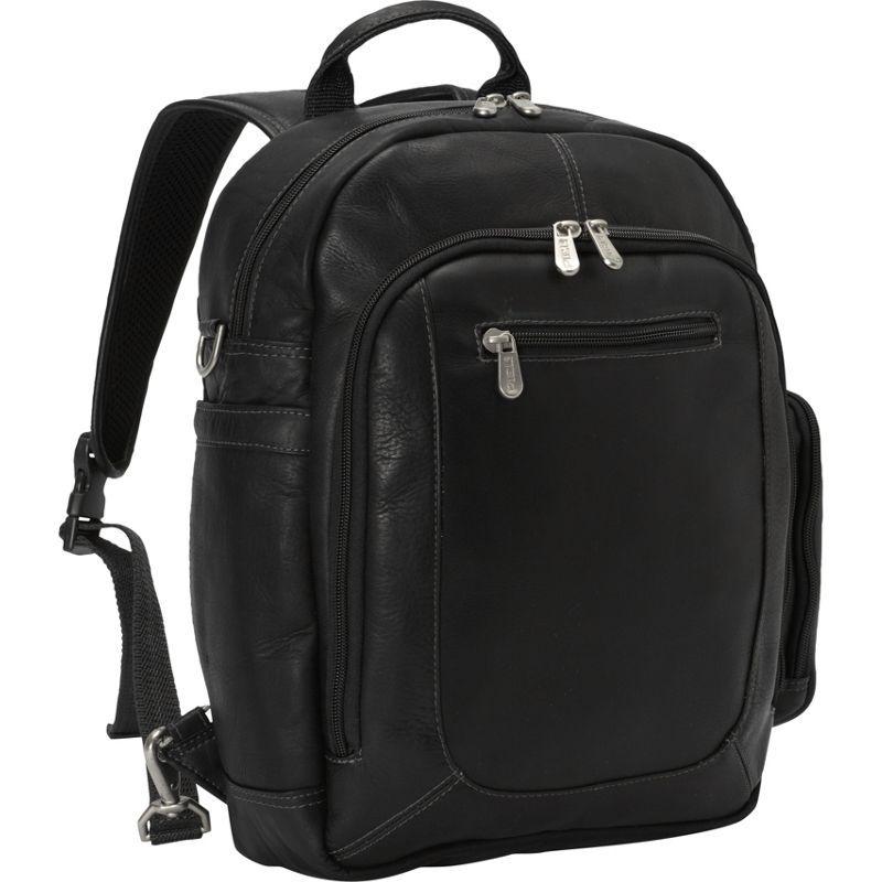 ピエール メンズ スーツケース バッグ Laptop Backpack Handbag Black